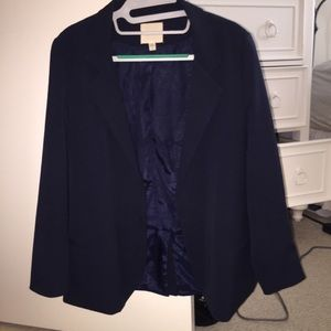 Navy blue blazer from Urban Outfitters